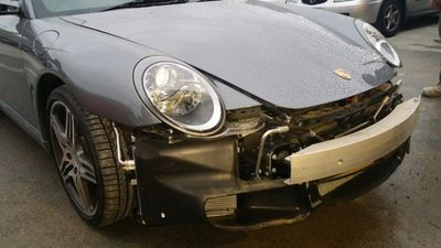 Smash Repair Porsche 911 Cabriolet 997
