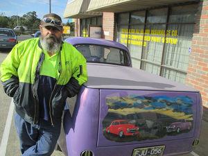 Holden Fj Ute Car Restoration 11
