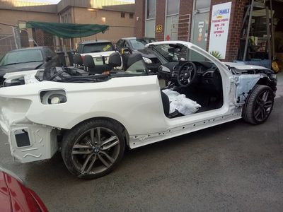 Smash repair bmw