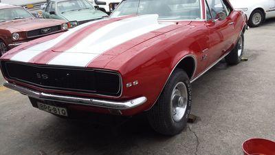 1969 Chevrolet Camaro Ss Car Respray 3