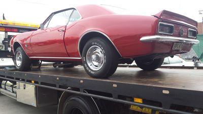 1969 Chevrolet Camaro Ss Car Respray 12
