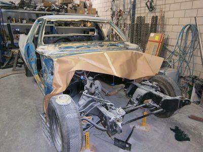 Full project this one restoration rust repairs, full car respray