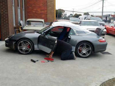 Re assembling Left hand door trim