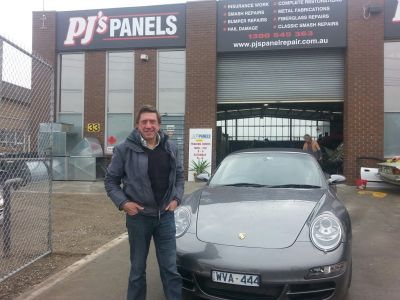 Porsche 911 Carrera 4S Smash repaired by the experts