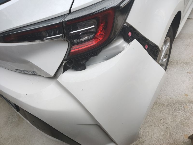 Toyota hybrid smash repair