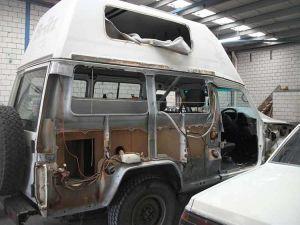 Landcruiser Van Smash Repair 3