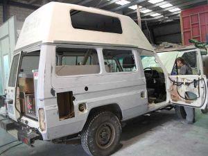 Landcruiser Van Smash Repair 6
