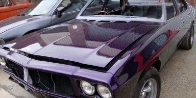 Purple Holden Restoration 08