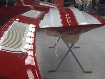 1969 Chevrolet Camaro Ss Car Respray 27