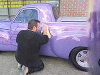 Holden FJ Ute Panel Work And Paint Restoration