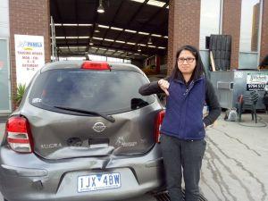 Nissan Micra Smash Repair 1 800X600