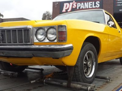 Holden ute ready for delivery